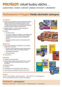 Nakladatelství Polyglot hledá obchodní zástupce